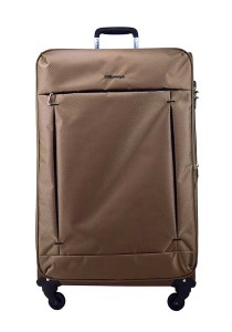 "Airways ATS6923 20"" 8 Wheels Spinner Softcase Luggage (Khaki)"