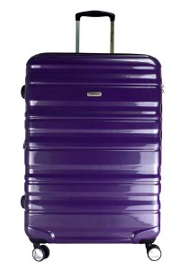 "Airways ATH6902 20"" 8 Wheels Spinner Hardcase Luggage (Purple)"