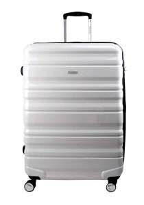 "Airways ATH6902 24"" 8 Wheels Spinner Hardcase Luggage (White)"