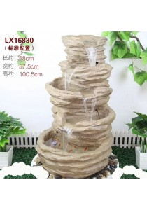 Feng Shui Water Fountain with Garden Decoration 16830