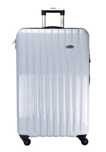 "Ricardo RCD514-28-454 28"" Hard Case Luggage 4 Wheels Spinner (Blue/White Carbon)"