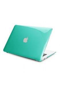 Crystal Case for Macbook Air 13.3 Front & Back - Green