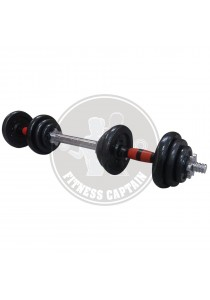 Fitness Gym 20kg Dumbbell and Barbell Combo Set