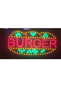 LED Sign Board - Burger