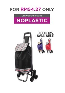 6 Wheels Foldable Shopping Trolley Cart Multifunctional Storage Cart