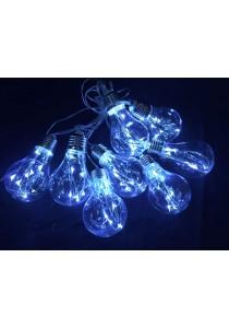 64 LED 6cm Bulb + Rattan Light (White / Warm White)