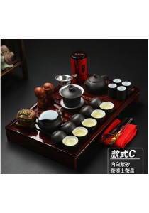 ~READY STOCK~ Home Office Tea pot Chinese Tea Set With Tray