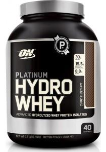 Optimum Nutrition Platinum Hydro Whey, Turbo Chocolate, 3.5lbs