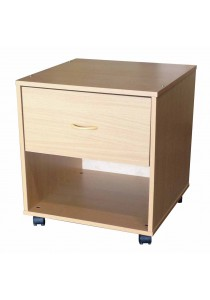 A-Tech: 1 Drawer Cabinet 1D (12mm) (Beech)