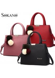 SoKaNo Trendz SKN827 Premium PU Leather Tote Bag