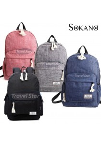Travel Star 1261 Korean Style Premium Laptop Backpack With External Charging USB Port