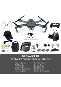 (Ready Stocks) DJI Mavic Pro Drone Fly More Combo Special Bundle + FREE GIFT