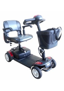 Wheelchair88 Spitfire 4 Portable Mobility Scooter