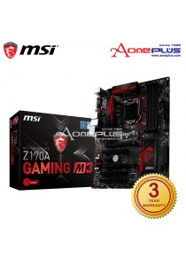 MSI Z170A Gaming M3 Motherboard + Free MSI Mouse Pad