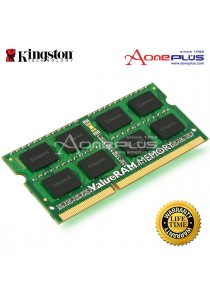 Kingston 8GB ValueRAM Notebook Memory Module (KVR1333D3S9/8G) -DDR3, 1333MHz, PC3-10600, CL9 204-Pin SODIMM, 1.5V