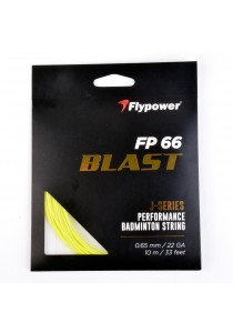 Flypower Badminton String FP66JS Neon Yellow