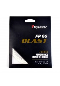 Flypower Badminton String FP66JS Milky White