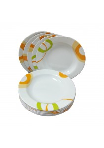 Idea Melamine Plates Dinnerware Set 12pcs (9 inch)