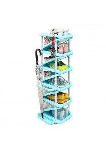 OEM 11 Tier Shoe Rack (Blue)