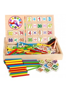 Early Learning Counting Material Wooden Math Calculate Educational Toys -BT17