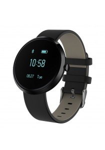 S10 Blood Pressure Heart Rate Monitor Bluetooth Activity Tracker Smart Watch Supports Android iOS (Black)