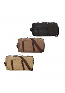 New Men's Vintage Novelty Canvas Duffel Backpack