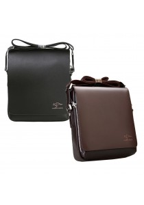 Kangaroo Kingdom Premium PU Leather Men Messenger Bag