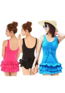 SoKaNo Trendz 1178 Series 1 Pcs Beach Wear With Skirt