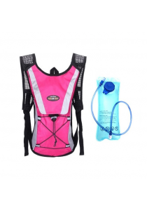 Cycling Sport Backpack with 2L Water Bag (Pink)