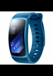 Samsung Gear Fit2 SM-R360 GPS Sports Band ORIGINAL Samsung Warranty (Blue)