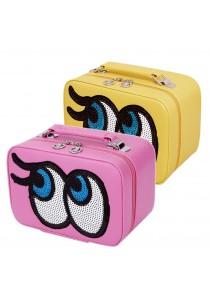 Sokano Trendz SKN901 Big Eye Premium PU Leather Pouch