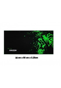 Rakoon Gaming Mouse Pad - Green Tiger (30cm x 80cm )