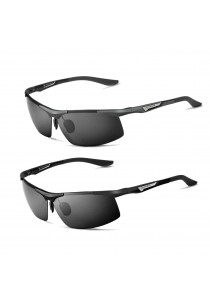 VEITHDIA 6562 Polarized Aviator Design Men Sunglasses