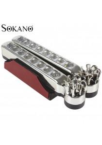 SOKANO Wind Powered 8 Super Bright LED Automobile Decorative Light (Set of 2)