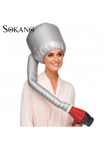 SOKANO Hair Drying Bonnet Cap with Hair Dryer Hood Attachment
