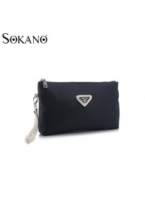 SoKaNo Trendz Premium Nylon Handy Pouch (Blue)