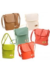 Premium PU Leather Crossbody Bag