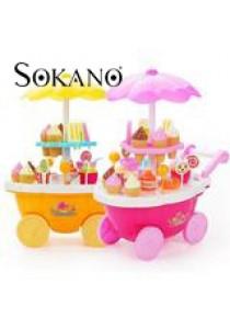 Sokano Sweet Shop Luxury Candy Cart