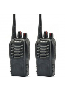 Baofeng BF-888S16 16 Channel Walkie Talkie Set UHF 5W - 1 Pair (2 Units)