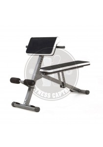 Fitness Gym Multifunction Bench with Preacher Curl and Hyperextension
