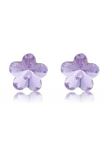 OUXI Plum Flower Earrings