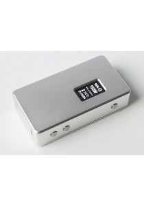 Original Cloupor T8 150W Dual 18650 Magnets Back Cover Box Mod - Silver