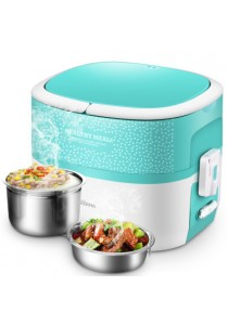 Deerma 1.2L Multi-function Electric Healting Lunch Box (Free Stainless Steel Bowl)