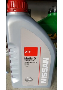 4x Nissan ATF-Matic D Automatic Transmission Fluid (1 Litre)