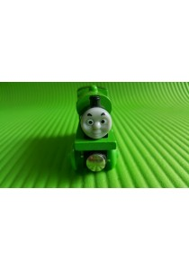 Magnetic Wood Train - Green Percy