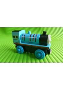 Magnetic Wood Train - Blue Edward