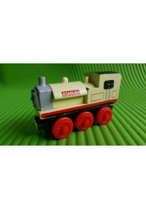 Magnetic Wood Train - Stanley