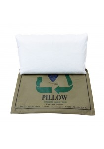 Combo - 2 pieces Mastercoil Synthetic Latex Pillow FREE Pillow protector FREE Carry Bag