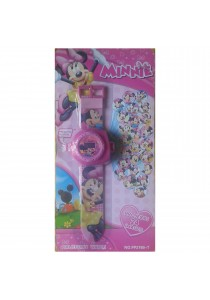 24 images Minnie Mouse Projector Watch for Girls