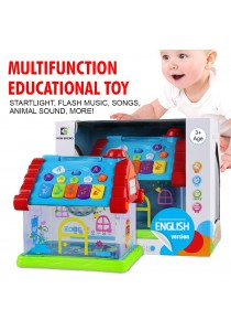 Baby Multifunction Educational Dreamy Cabin Toy Starlight Projection